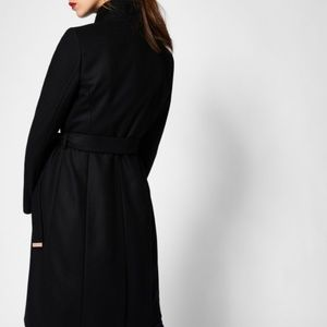 8d140c4ed Ted Baker Jackets   Coats - Ted Baker Kikiie Cashmere-blend Wrap Front Coat